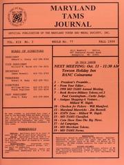 Maryland TAMS Journal, Vol. 19, No. 3 (77)
