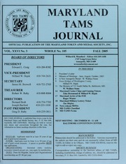 Picture of Maryland TAMS Journal
