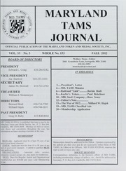 Maryland TAMS Journal, Vol. 33, No. 3 (133)