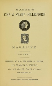 Mason's Coin and Stamp Collector's Magazine, Vol. 1, No. 2