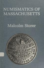 Numismatics of Massachusetts