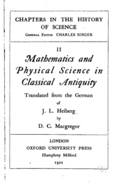 Mathematics and physical scien...