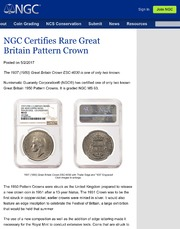 NGC Newsletter: May 2017