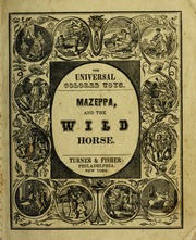 Mazeppa, and the wild horse