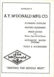 A Y Mcdonald Catalog R Plumbing And Heating A Y Mcdonald