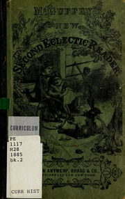 Image result for mcguffey's second eclectic reader images