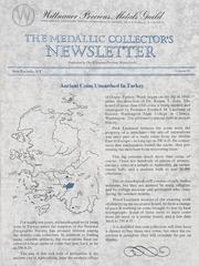 The Medallic Investor's Newsletter: Vol. 6