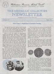 The Medallic Investor's Newsletter: August 1972