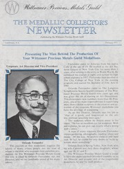 The Medallic Investor's Newsletter: February 1973