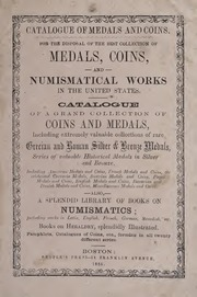 Medals, Coins, and Numismatical Works in the United States