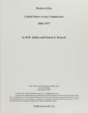 Medals of the United States Assay Commission 1860-1977