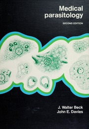 Medical parasitology : Beck, J  Walter, 1913- : Free