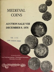 Medieval coins : auction sale VIII. [12/09/1976]