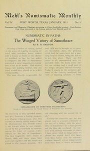Mehl's Numismatic Monthly (vol. 4 )