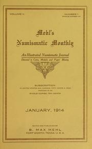 Mehl's Numismatic Monthly (vol. 5)