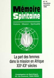 Memoire Spiritaine Deuxieme Semestre 1999