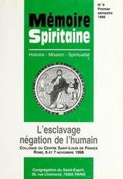 Memoire Spiritaine Premier Semestre 1999