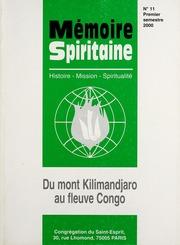 Memoire Spiritaine Premier Semestre 2000