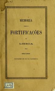 Memoria sobre as fortificações de Lisboa