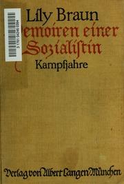 Memorien einer Sozialistin Kampfjahre. Roman