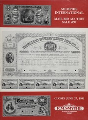 Memphis International Mail Bid Auction Sale #97