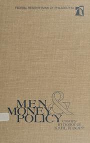 Men, Money & Policy