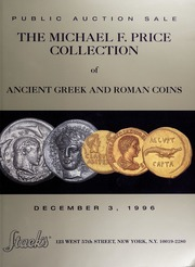 The Michael F. Price Collection of Ancient Greek and Roman Coins