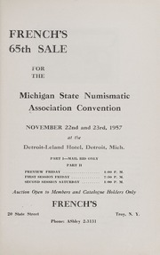 Michigan State Auction Sale
