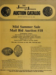 Mid Summer Sale: Mail Bid Auction #18
