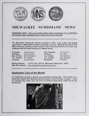 Milwaukee Numismatic News: September 2013