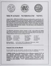 Milwaukee Numismatic News: August 2013