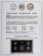 Milwaukee Numismatic News: November 2013