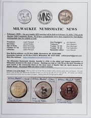 Milwaukee Numismatic News: February 2018