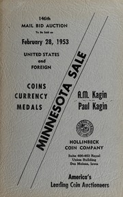 Minnesota Sale: United States and Foreign Coins, Currency, Medals