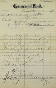 Minor coins ordered month ago not received (1-5-1893)