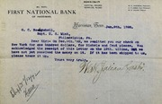 Minor coins ordered month ago not received (1-9-1893)