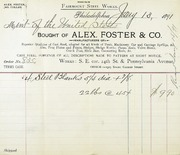 Misc. steel from Foster Co.