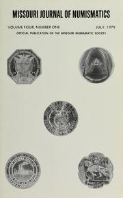 Missouri Journal of Numismatics, Vol. 4