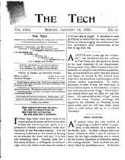 The Tech - Volume 23 Issue 14