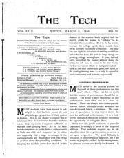The Tech - Volume 23 Issue 18