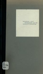 Mitteilungen aus der Handschriftensammlung des Britischen Museums zu London, vornehmlich zur polnischen Geschichte