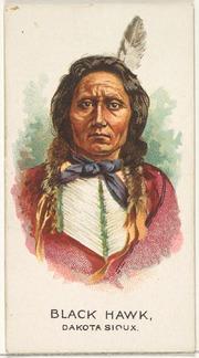 Black Hawk, Dakota Sioux, from the American Indian Chiefs