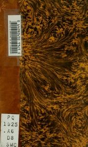 Mmme de Sévigné : textes choisis et commentés