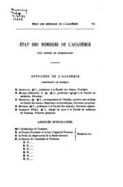 Mémoires de l-Académie des sciences, inscriptions et belles-lettres de Toulouse