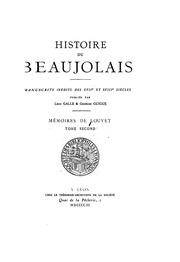 Vol 2: Mémoires de Louvet