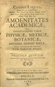 dissertationes botanicae