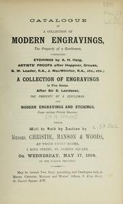 Modern engravings
