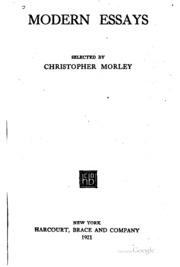 modernism essay conclusion