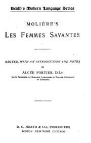 dissertation les femmes savantes An abuse, more dangerous yet, wrote d'angiviller, is the entrée given to filles ou femmes artistes [girl or women artists] in these private schools, to draw after the the femme savante who displayed her learning was an object of mockery and disdain, as much to restif de la bretonne in the eighteenth century and sylvain.