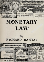 Monetary Law
